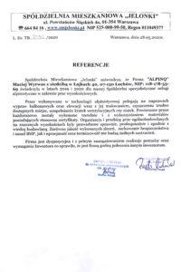 alpinq Referencje Osiedle Jelonki